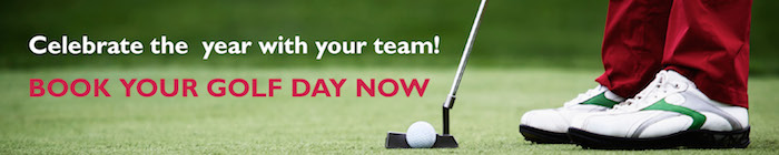 Book your corporate golf day now